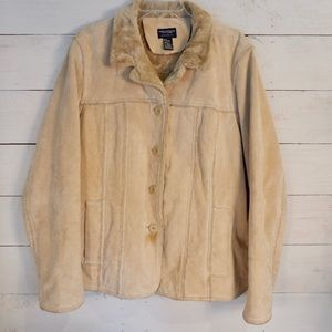 American Eagle Outfitters Suede Jacket XL